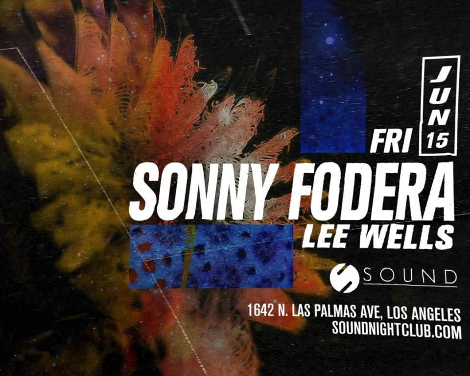 Sonny Fodera and Lee Wells at Sound Nightclub