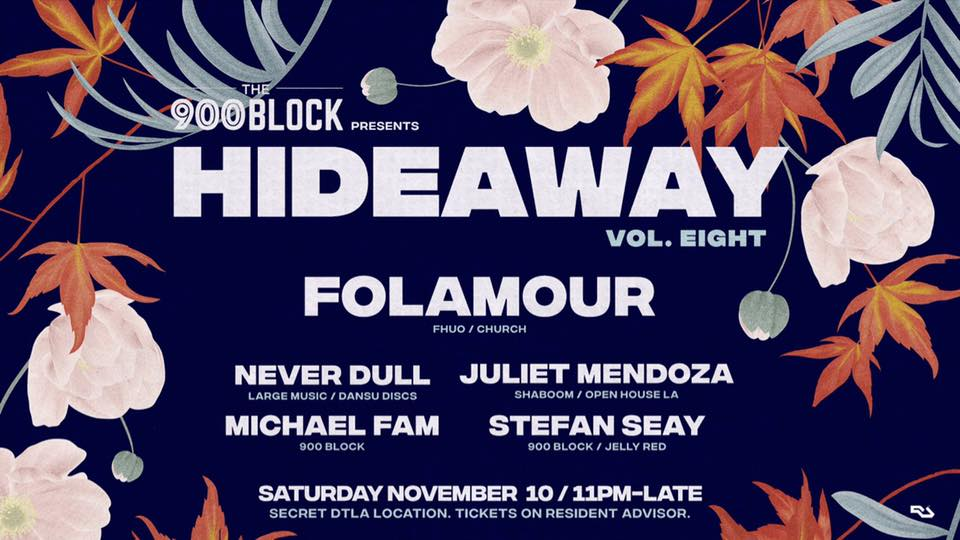 Hideaway Vol. 8 featuring Folamour