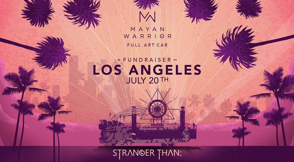 Mayan Warrior; Los Angeles (Full Art Car)